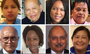Composite of BAME Covid victims