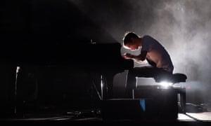 Jon Hopkins performing at Brighton Dome, 15 March 2020.