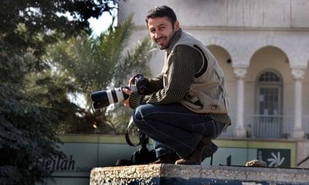 Namir Noor-Eldeen with his camera