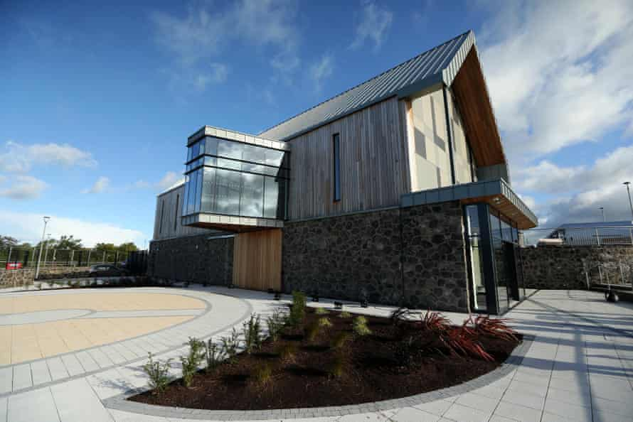 Seamus Heaney HomePlace Centre in Bellaghy, Co Derry.