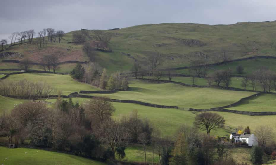'Cumbria is big, but isn't home to a lot of people.'