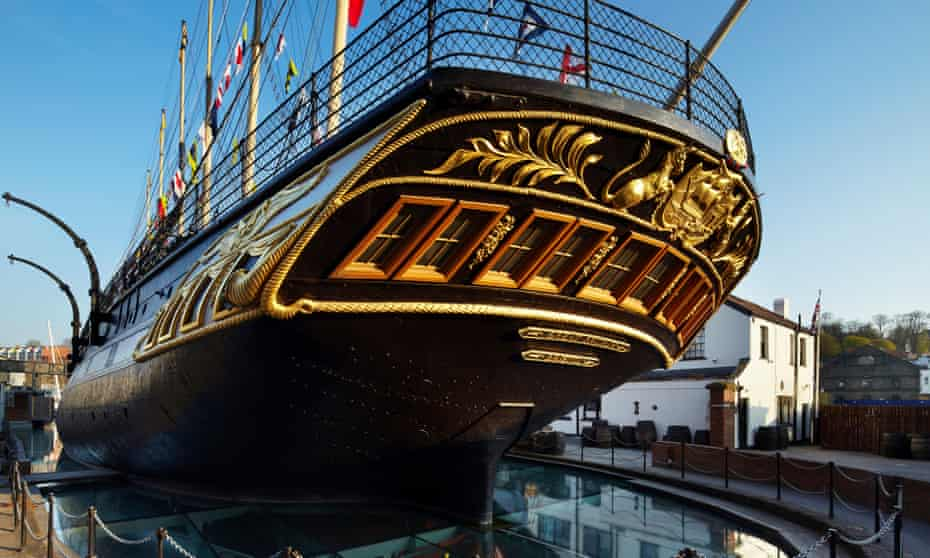 SS Great Britain in Bristol today.