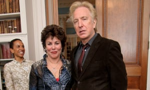 Ruby Wax and Alan Rickman in 2005.