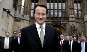 He was the future once: David Cameron in 2005 during the Tory leadership race.