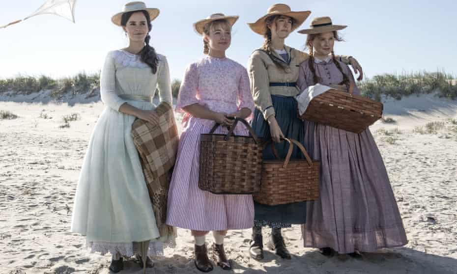 from left, Emma Watson, Florence Pugh, Saoirse Ronan and Eliza Scanlen.