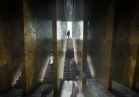 Adjaye's proposal includes an underground learning centre to 'immerse visitors in the historical content'.