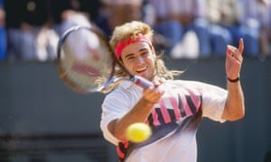 Andre Agassi in 1990.