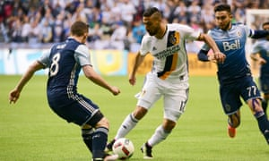 Aird, left, did well to shut down Sebastien Lletget and Mike Magee.