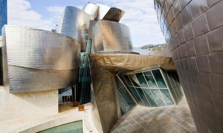 Another view of the Bilbao museum, which Gehry designed with the help of computer software intended for the aviation industry.
