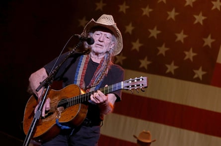 Willie Nelson performs in concert during the annual Willie Nelson 4th of July Picnic at the Austin360 Amphitheater