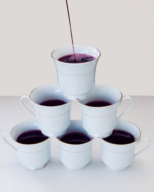 Wine in teacups. From photographer Olivia Locher's I Fought the Law series
