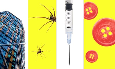 Some 10 million of us suffer from a phobia, from spiders to buttons.