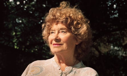 Confident and uncompromising … Shirley Collins.