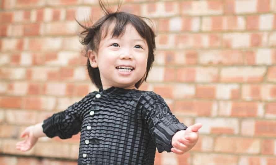 Ryan Yasin's designs feature engineered fabric that grows with the child.