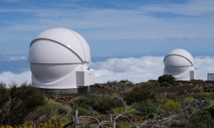 Students can remotely access the instruments inside the Open University's observatory in Tenerife, using the internet of laboratory things project.