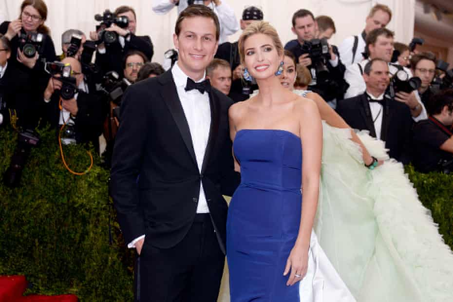 Ivanka Trump and Jared Kushner at a Met Museum benefit in 2015. Many doubt such institutions will rush to welcome them back.