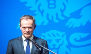 Donald Tusk has voiced the security concerns felt within Europe since the election of Donald Trump.