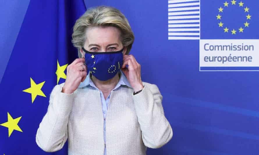 European commission president, Ursula von der Leyen