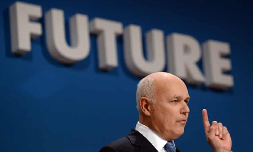 Iain Duncan Smith resigned his cabinet position on Friday night.