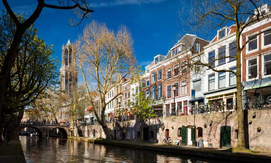 Dom Tower and the Oudegracht.