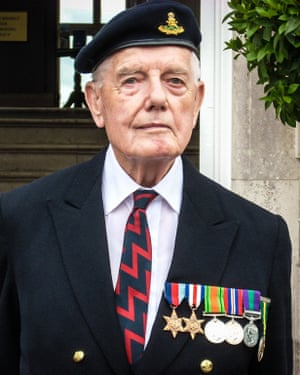 Derek Findley in 2009 on the 65th anniversary of the D-day landings
