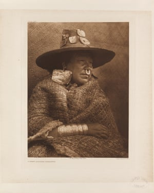 A chief's daughter – Nakoaktok, British Columbia.