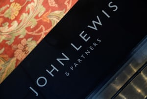 Signage for John Lewis is seen at its store in Oxford Street in London, Britain, January 8, 2020. REUTERS/Toby Melville