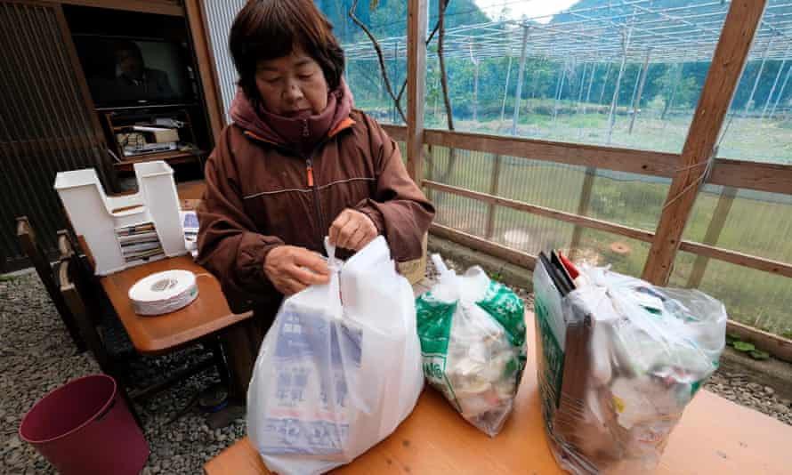 Japanese consumers get through about 30bn plastic shopping bags a year.