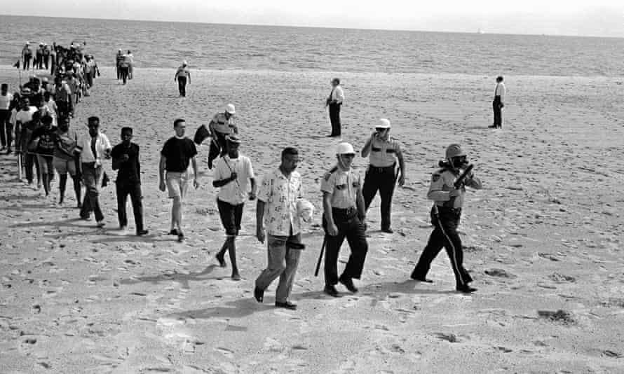 biloxi beach wade in protest