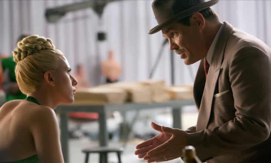 Brolin with Scarlett Johansson in Hail Ceasar.