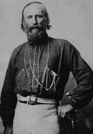 Portrait of Italian soldier and political strategist Giuseppe Garibaldi (1807 - 1882)