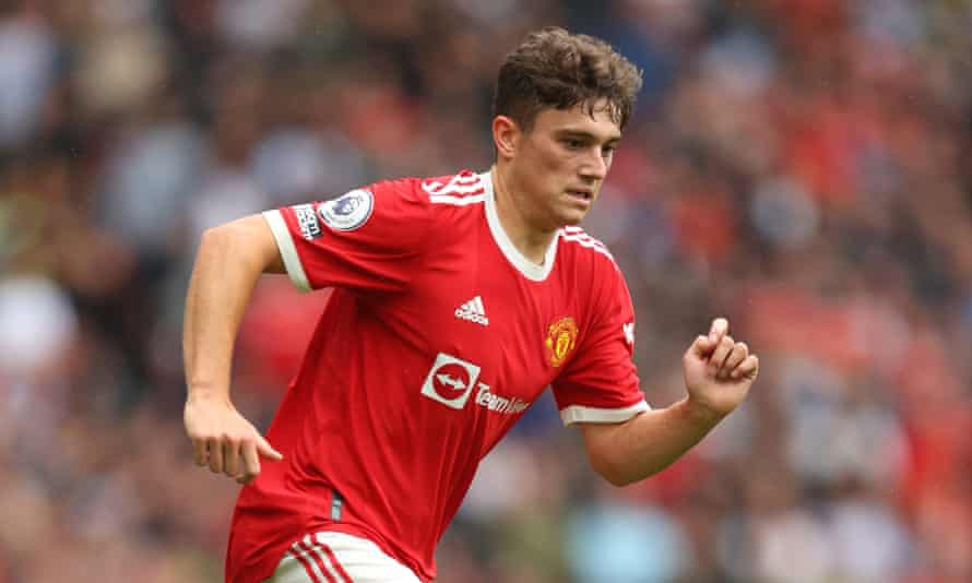 Daniel James in action against Leeds United on the opening day of the Premier League season