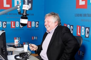 'News from a rightwing perspective can often be more entertaining …' LBC presenter Nick Ferrari.