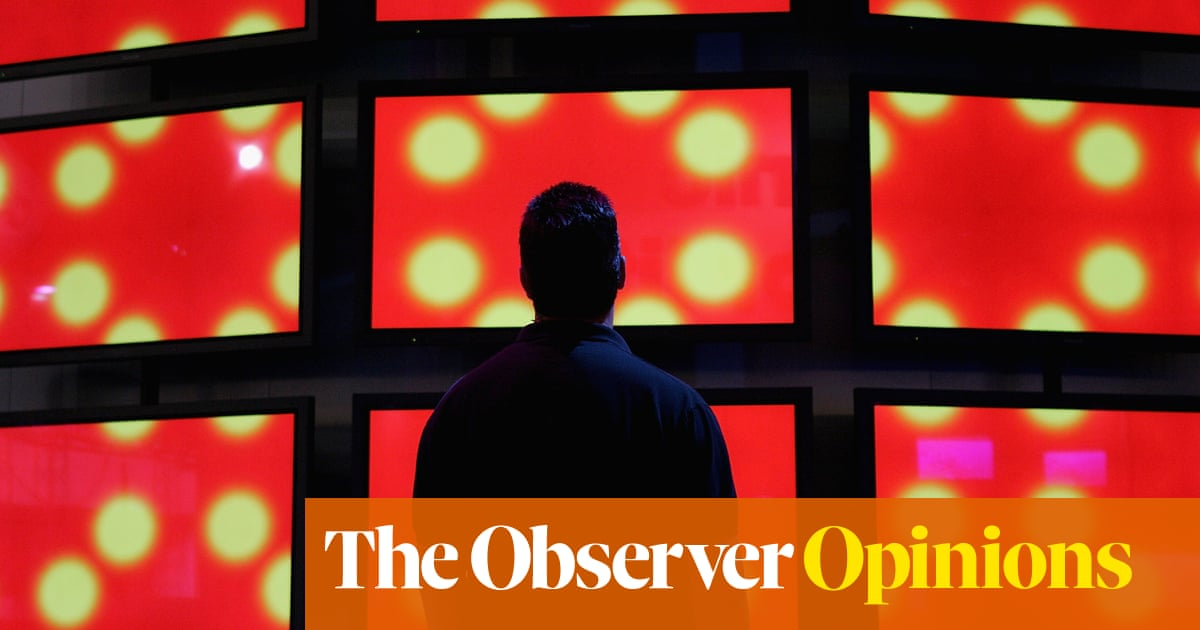 No space is safe when even our TVs are spies | Stewart Lee | Opinion