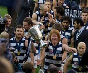 EDUCATION Mon jeu préféré: Geelong contre St Kilda - Grande finale 2009 de l'AFL   Jonathan Horn   sport