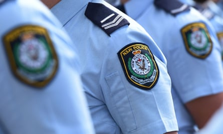 nsw police in uniform