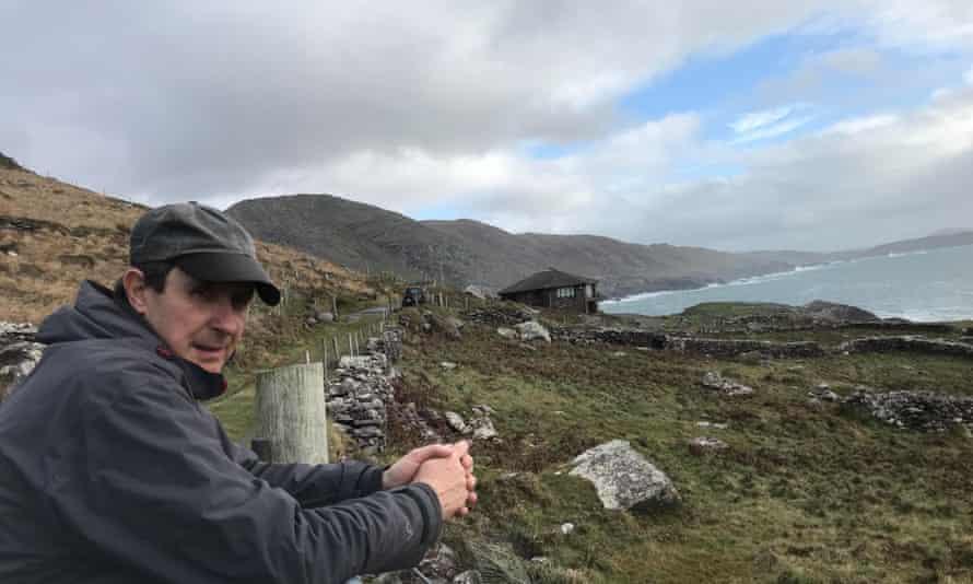 Philip Watson during his 'rural' lockdown, in County Kerry, November 2020.