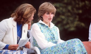 Princess Diana in floral print in 1981.