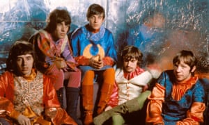 An anthem for the summer of love … Procol Harum in the 60s, from left, Dave Knights, BJ Wilson, Gary Brooker, Matthew Fisher and Robin Trower