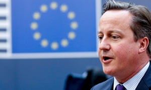David Cameron arrives at EU summit in Brussels