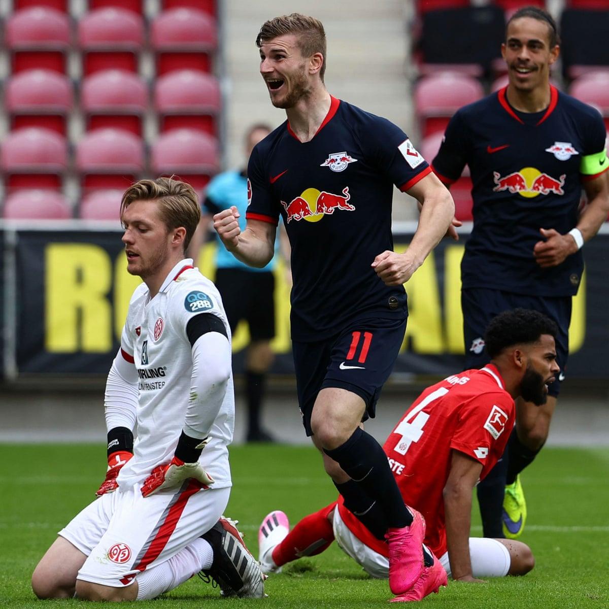 Mainz 0 5 Rb Leipzig Bundesliga As It Happened Football The Guardian