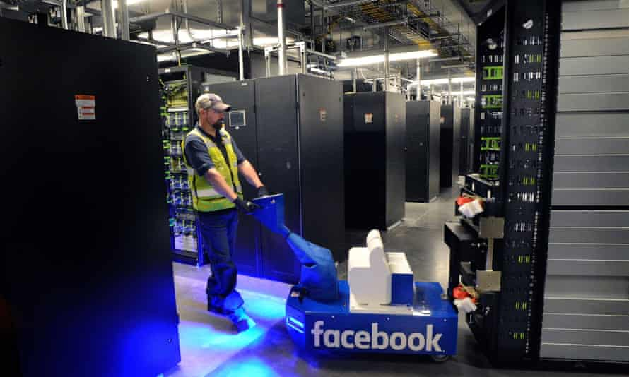 Only huge firms such as Facebook can house the number of processors that machine learning requires.