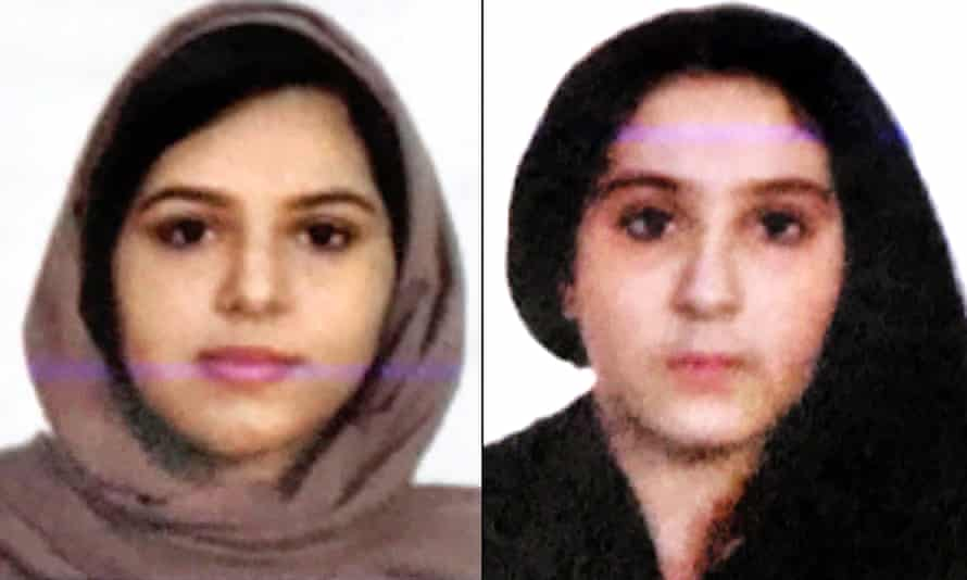 Rotana Farea, 22, and Tala Farea, 16 were found dead in the city around a year after they had ceased living with family members in Fairfax, Virginia.