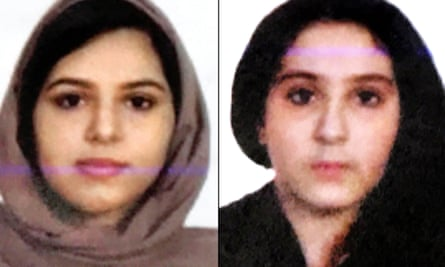 Rotana Farea, 22, and Tala Farea, 16, were discovered on 24 October on the bank of the Hudson river.