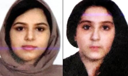 Rotana Farea, 22, and Tala Farea, 16, were discovered on 24 October along the Hudson river.