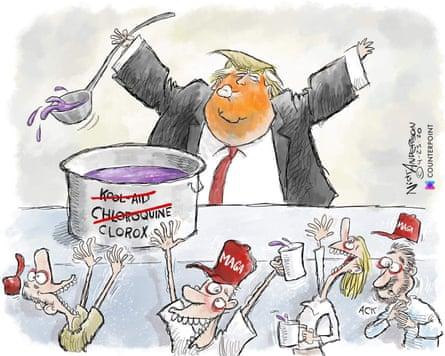 Nick Anderson's The Trump Cult cartoon.