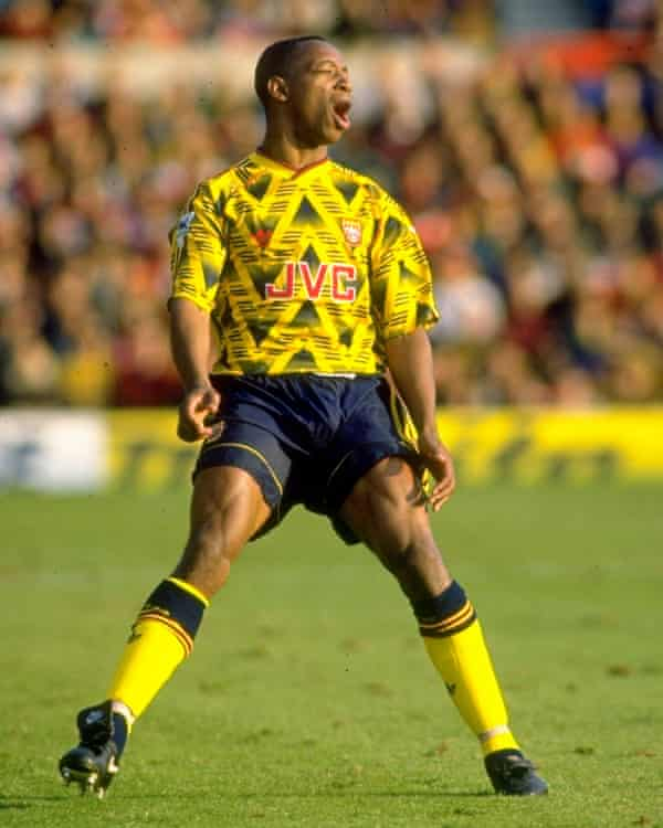 Arsenal's Ian Wright in 1992