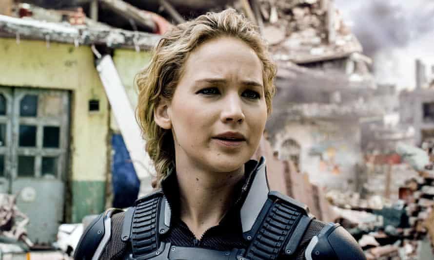 Jennifer Lawrence in X-Men: Apocalypse.