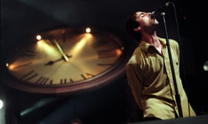 The clock is ticking … Liam on stage.