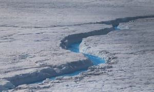 Greenland's ice is melting faster than was previously thought.
